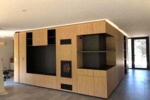 Aménagement central maison d'habitation